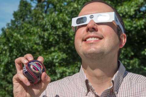 Local NASA scientist to lead baseball game delay during solar eclipse
