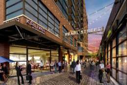 Chef Med Lahlou will open an outpost of his popular 14th Street restaurant Lupo Verde, on Pearl Street at The Wharf,, called Lupo Marino. (Courtesy Hoffman-Madison)