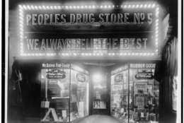 People's Drug Store at 8th & H Streets, NE, Washington, D.C.  National Photo Company Collection.(Library of Congress)