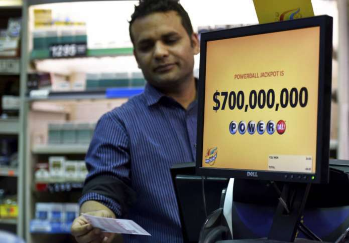 Powerball jackpot rises to $700 million, second biggest ever
