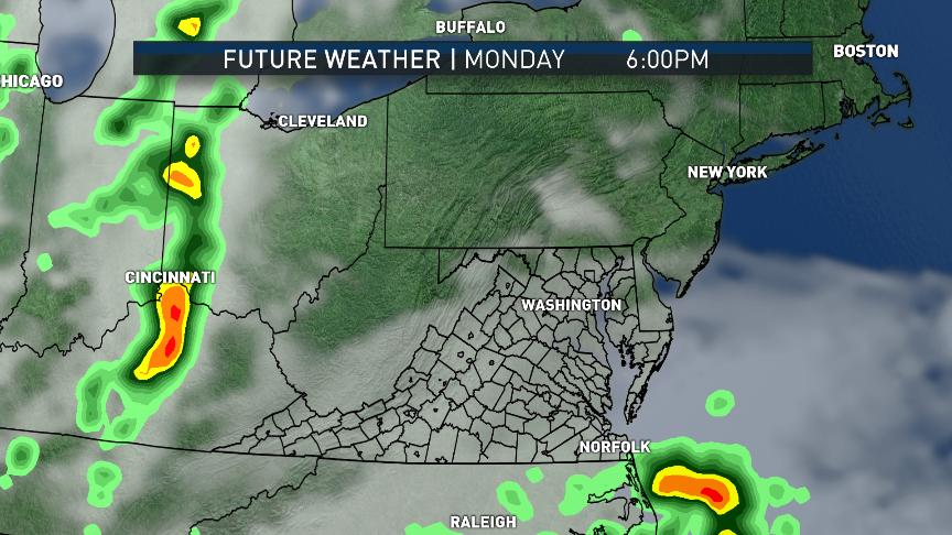 Workweek weather: Coastal storm brings rain, return of