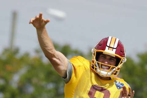 Redskins break camp knowing there's work to do