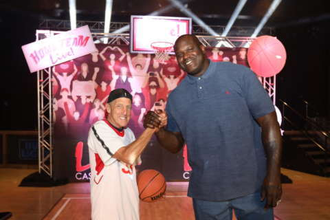 Md. real estate mogul, Shaquille O'Neal in free-throw throwdown