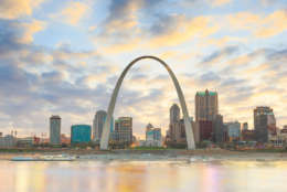St. Louis, Missouri, is the gateway to the west. It's also No. 16 on Terminix's list. (Thinkstock)