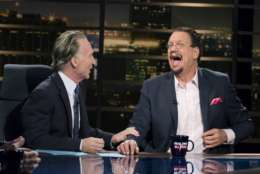Bill Maher and, Penn Jillette – Magician, Author, Presto! How I Made Over 100 Pounds Disappear and Other Magical Tales .