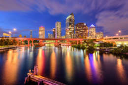 Tampa, Florida, comes in at No. 18. (Thinkstock)