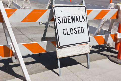 Key Bridge sidewalk closures continue through Oct. 6