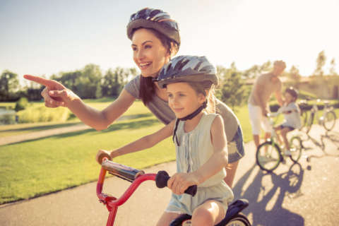 Every Day is Kids' Day: Working out with the whole family