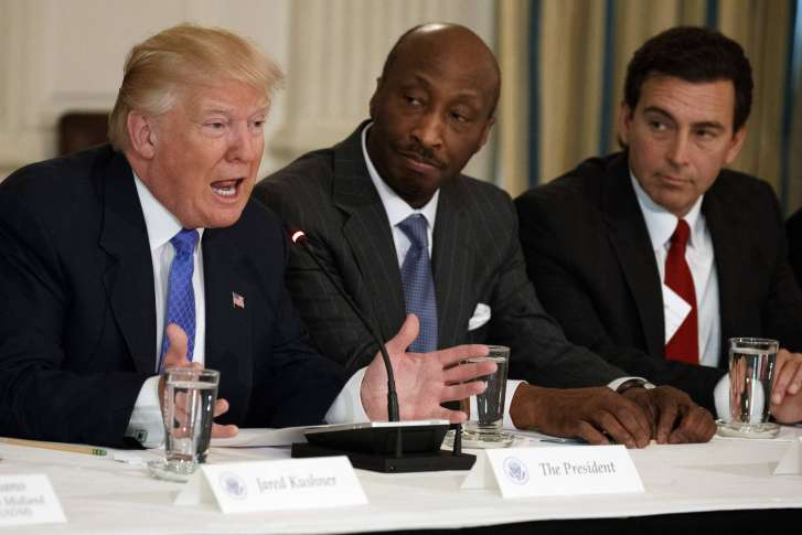 Donald Trump slams drug firm CEO following resignation from advisory council