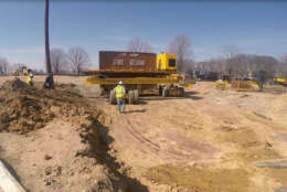 A look at some of the work done on U.S. Route 1 near Fort Belvoir. (Courtesy U.S. Route 1 Fort Belvoir)