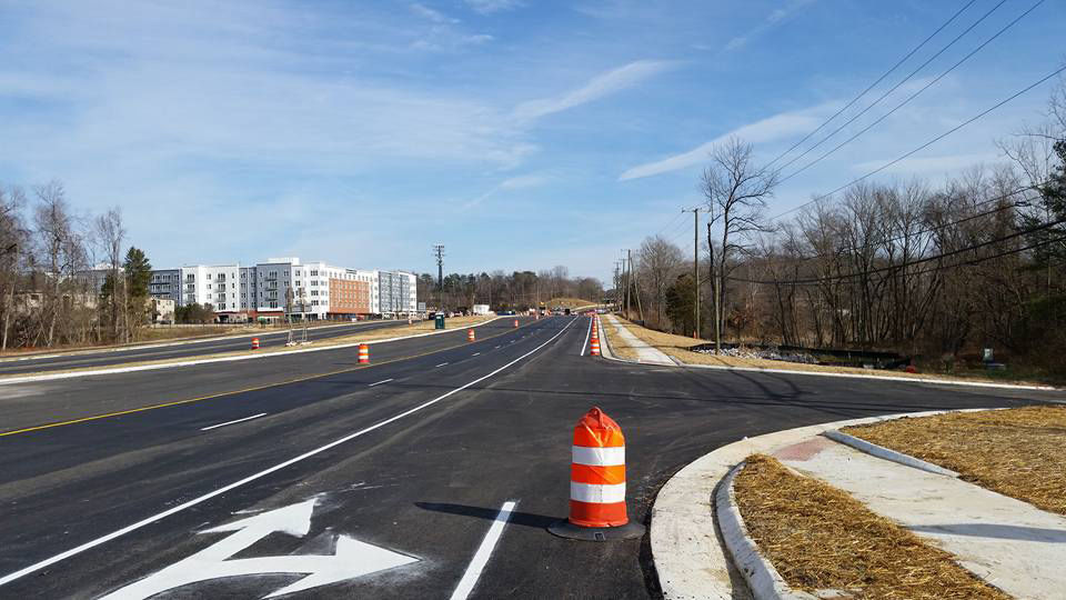 After two decades of wrangling, work began on the project in 2013. (Courtesy U.S. Route 1 Fort Belvoir).
