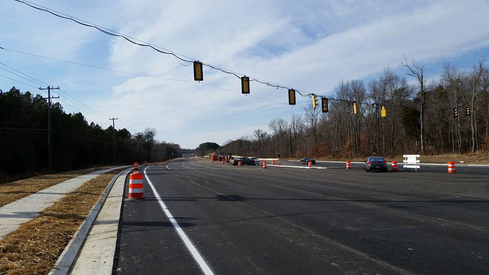 In addition to other benefits, the project will make it easier for traffic from the Fairfax County Parkway and Interstate 95 to reach Fort Belvoir. (Courtesy U.S. Route 1 Fort Belvoir)