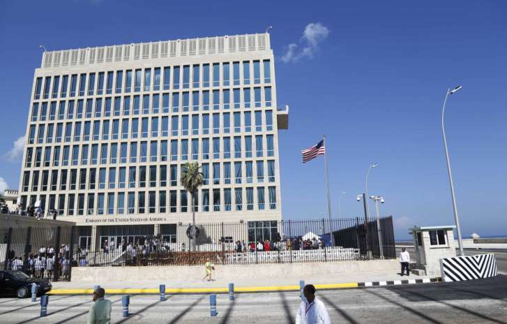 United States staff were hurt in Cuba embassy 'health attack'
