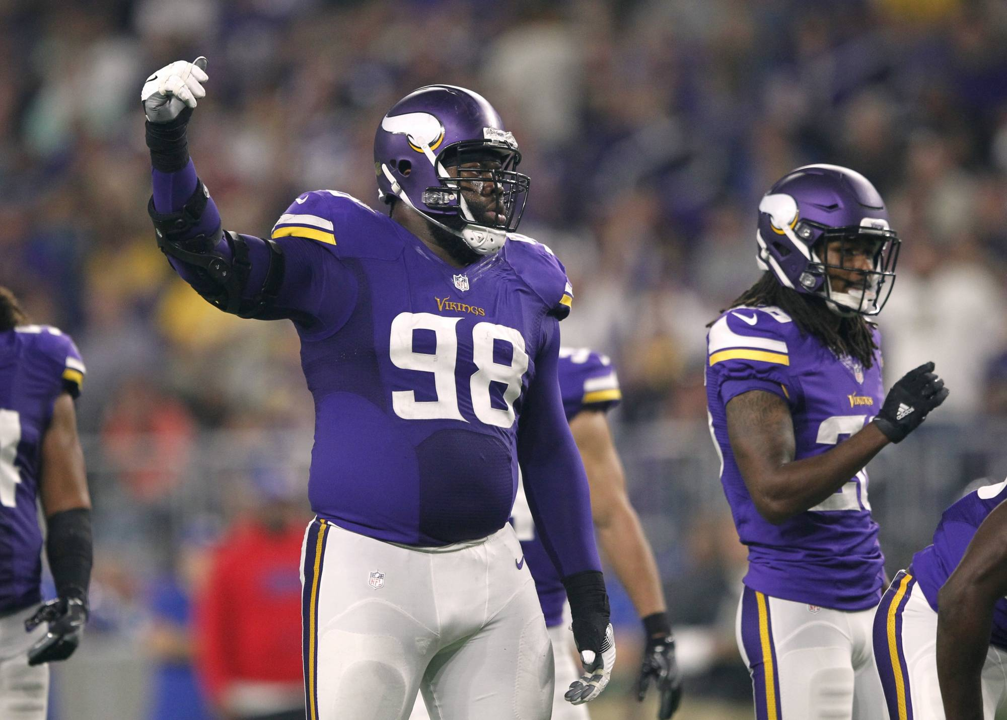 Linval Joseph s agency announces new contract with Vikings