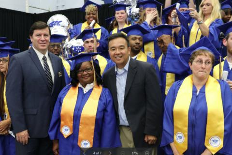 Glen Burnie Walmart training academy graduates first class