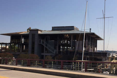 Annapolis Yacht Club begins rebuilding after 2015 blaze
