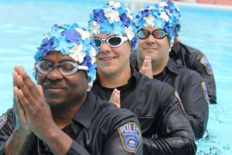 Arlington police release synchronized swimming video to promote block party