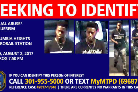 Police seek suspect in several upskirting cases at Columbia Heights Metro