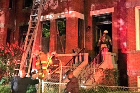 DC firefighter critically injured after being struck by ladder truck