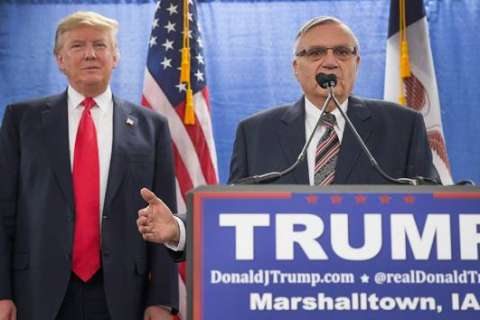 White House rules out Trump pardon of Sheriff Joe Arpaio at rally