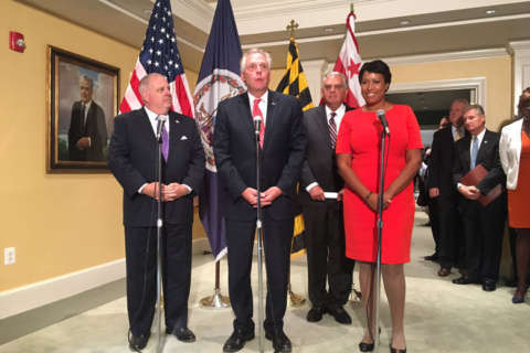 DC mayor and Md., Va. governors meet for Metro, local issues
