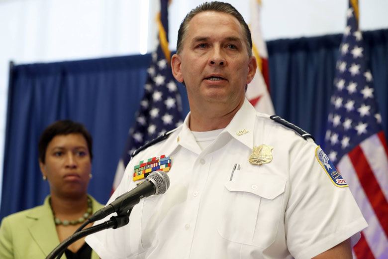 Frustrated DC police chief wants more done to target repeat gun offenders
