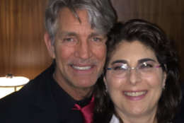 """""""Unbridled"""" star Eric Roberts is defended in the film by Maryland attorney Rene Sandler, who is making her debut as an actor and producer. (Courtesy Rene Sandler)"""