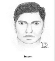 Photo shows sketch of a sexual assault suspect in Fairfax County