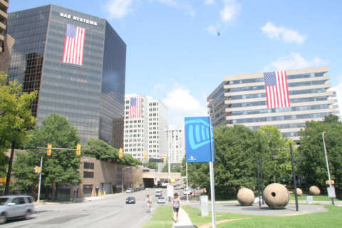 A record number of buildings fly the flag in Rosslyn again