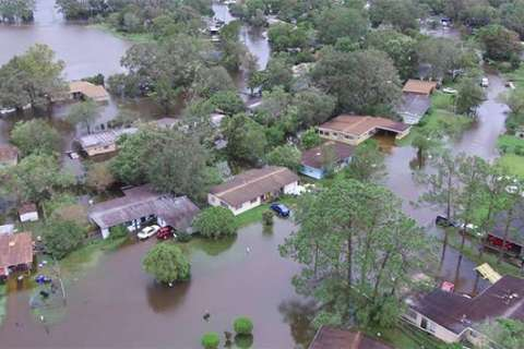Hurricanes Harvey and Irma may have caused up to $200 billion in damage, comparable to Katrina