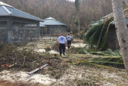 Virginia Task Force 1 and 2 and New York Task Force 1 conduct Irma-related search-and-rescue operations in the U.S. Virgin Islands this weekend. (Courtesy FEMA)