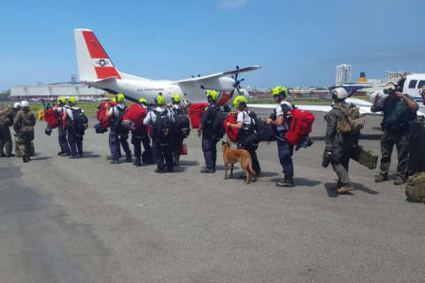 Fairfax Co. first responders assist feds in Florida Keys, US Virgin Islands