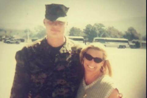 Mother, platoon leader run for fallen Marine