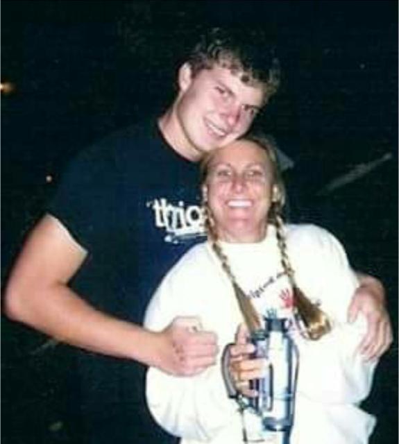 """Lisa Anderson was a runner even before losing son Nick, but she didn't run long distances or train for marathons. """"I've run quite a few since then."""" (Courtesy Lisa Anderson)"""