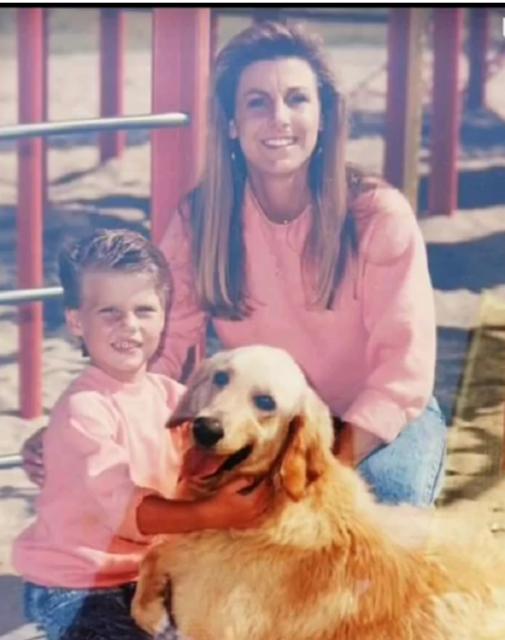 Lisa Anderson and son Nick. Nick was a Marine and Lisa runs the Marine Corps Marathon to honor him. (Courtesy Lisa Anderson)