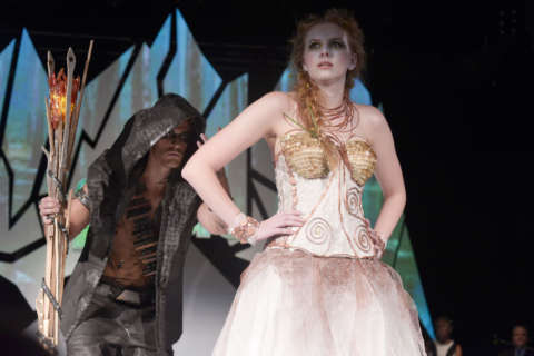 Fashion is inside-out at 8th Annual Cosmo Couture (Photos)