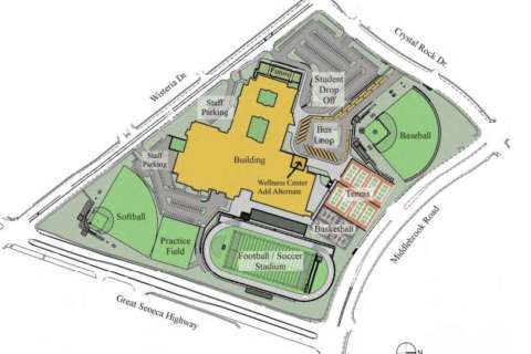 Montgomery Co. starts work on Md.'s largest high school