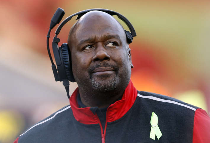 Assistant Mike Locksley loses son to shooting