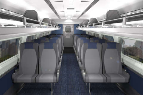 Amtrak's $16M makeover for train interiors on Northeast Corridor