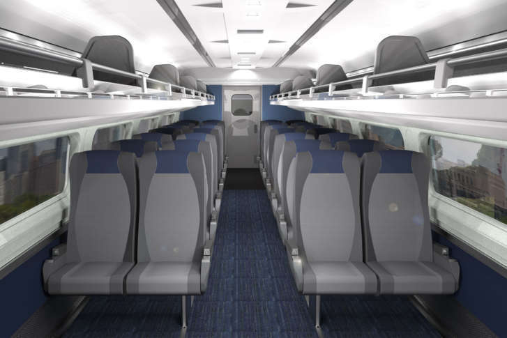 amtrak s 16m makeover for train interiors on northeast corridor wtop