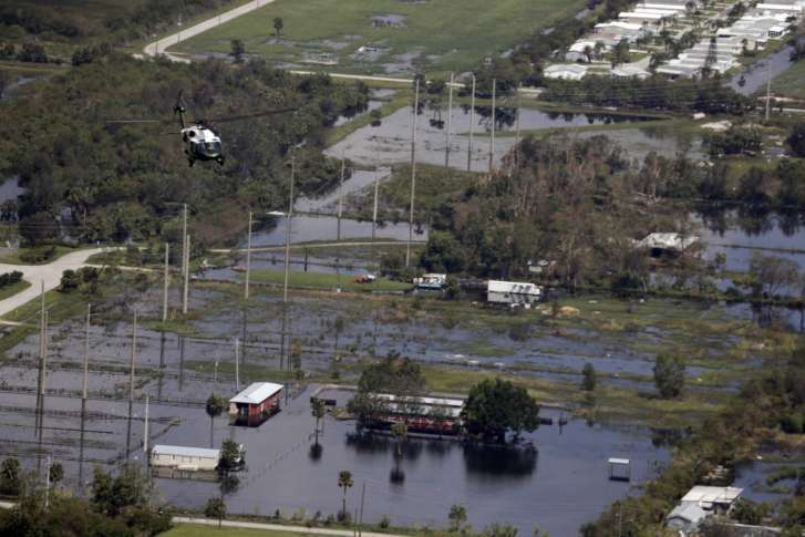Irma batters Florida with high winds, rising floodwaters