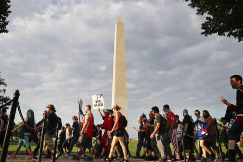Still unclear if National Park Service will charge to recover costs for protests