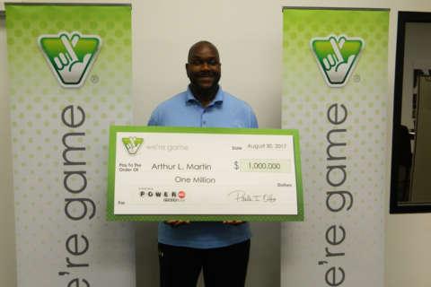 Alexandria man didn't notice he won $1 million in Powerball