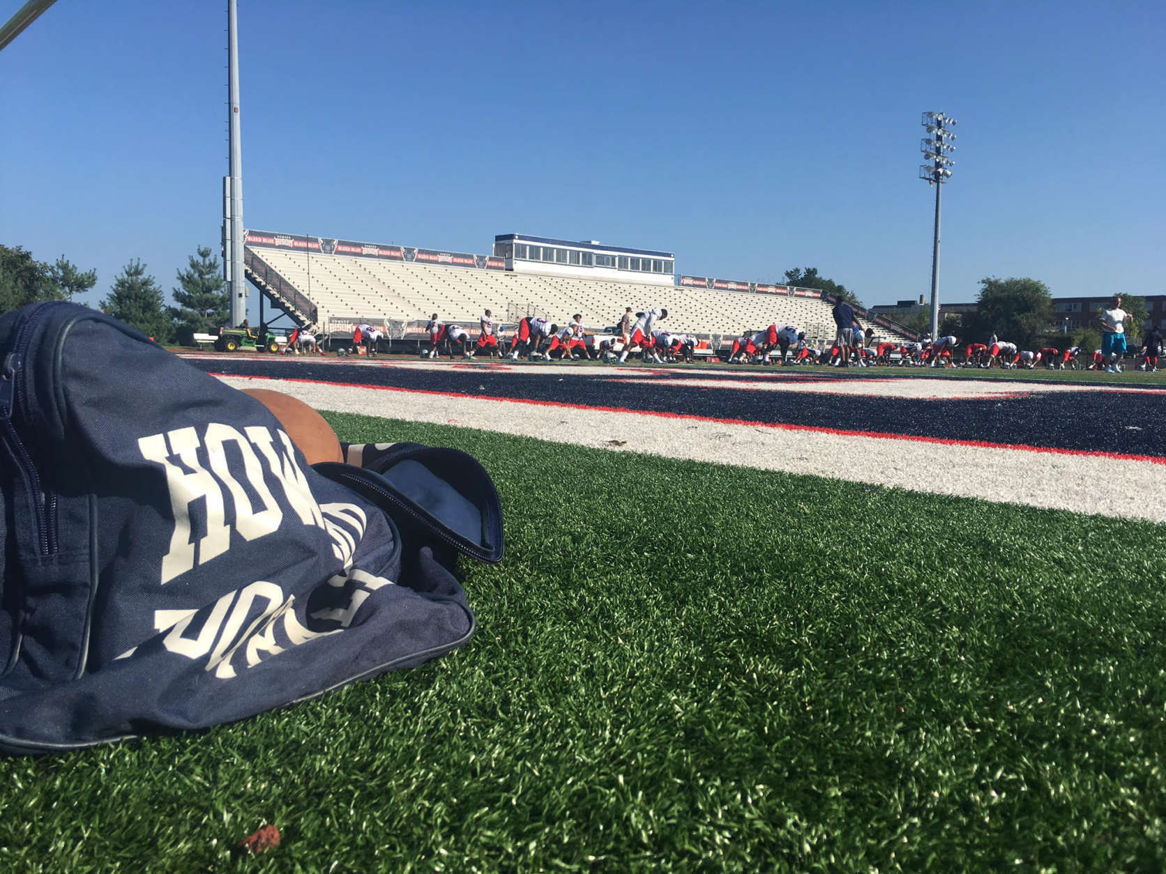 Howard football finally returns to D.C. for its home opener Saturday vs. Bethune-Cookman. (WTOP/Noah Frank)