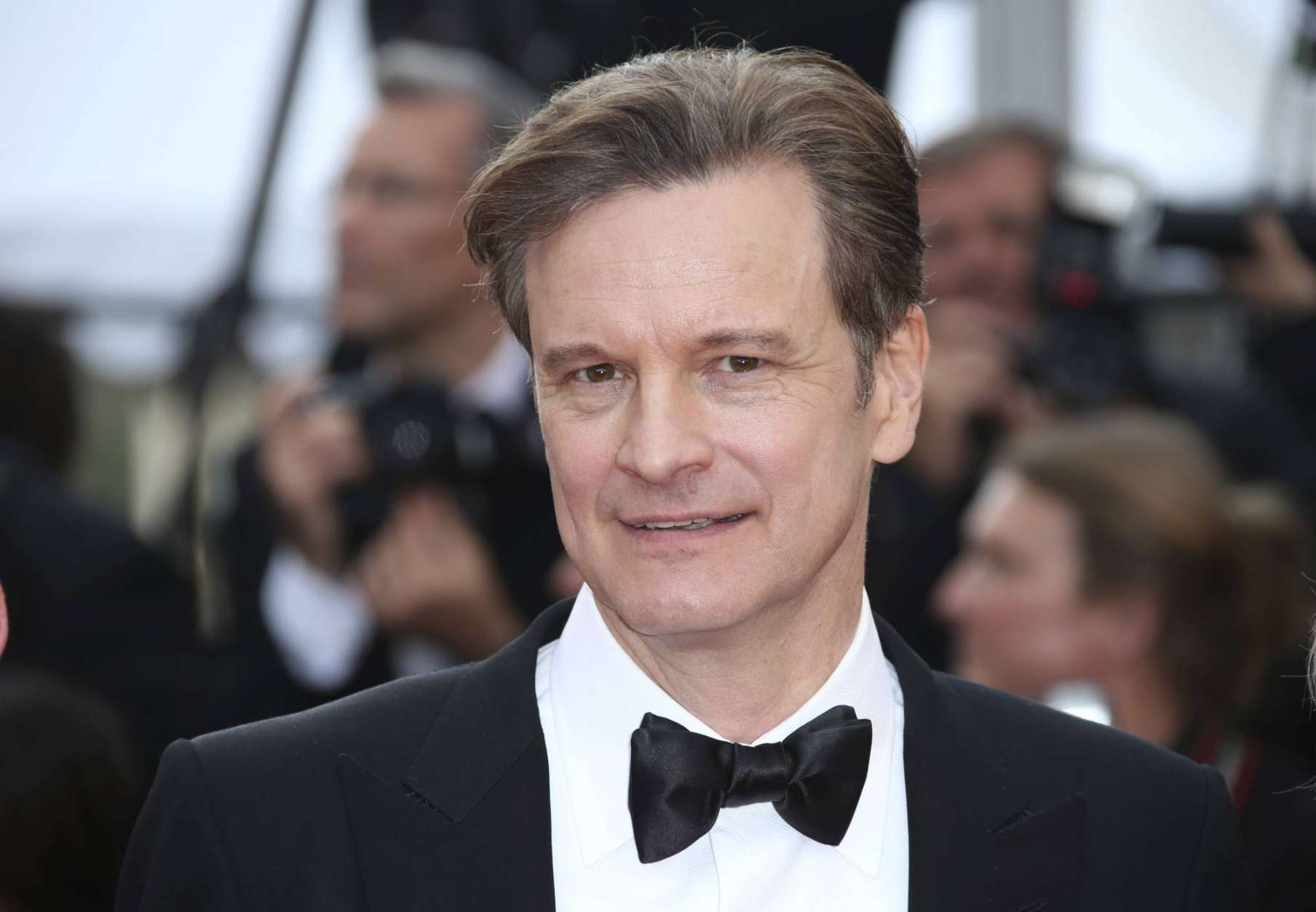 "FILE -  In this Monday, May 16, 2016 file photo, actor Colin Firth poses for photographers upon arrival at the screening of the film Loving at the 69th international film festival, Cannes, southern France. British actor Colin Firth says he has taken Italian citizenship as a ""sensible"" move amid global political uncertainty. Firth, who is married to environmentalist Livia Giuggioli, says he has become a dual U.K.-Italian citizen, and his wife is applying for British nationality. Their two sons already have dual citizenship.  (AP Photo/Joel Ryan, File)"