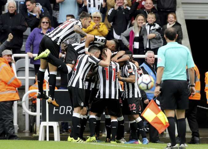Atsu grabs first EPL goal in Newcastle's third straight win