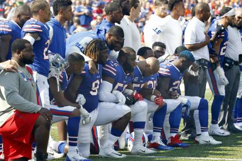 The great gridiron schism of 2017: Stand or kneel?