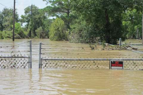 AP EXCLUSIVE: Toxic waste sites flooded in Houston area