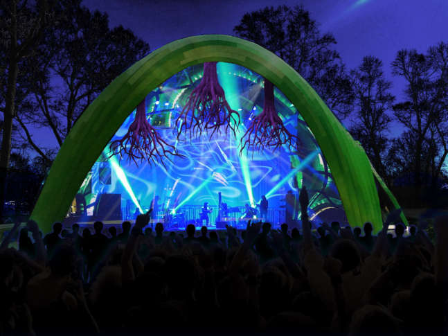 Opus 1 paints columbias woods with innovative visuals and music wtop merriweather parks new chrysalis stage is evidence that there is potential for the parks cultural programming to diversify said opus 1 curator and aloadofball Gallery