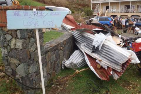 St. John island still in 'desperate situation' after Irma, braces for Maria